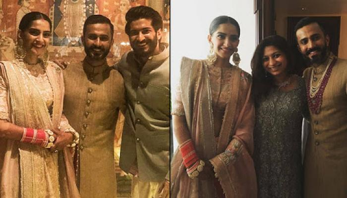 Sonam Kapoor's First Look Post-Marriage, Looks Stunning In Chooda And Sindoor