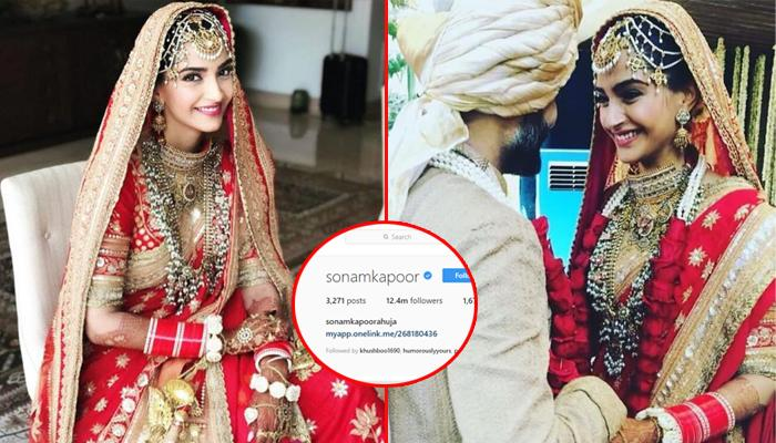 Newbie Bride, Sonam Kapoor Adds Her Husband, Anand Ahuja's Surname And Is Now Sonam Kapoor Ahuja