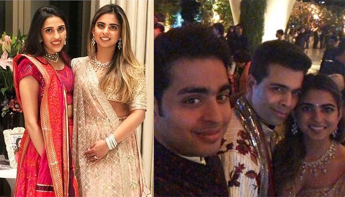 Isha Ambani And Anand Piramal's Engagement Party: Karan Johar, Ranbir Kapoor, SRK Attend The Bash