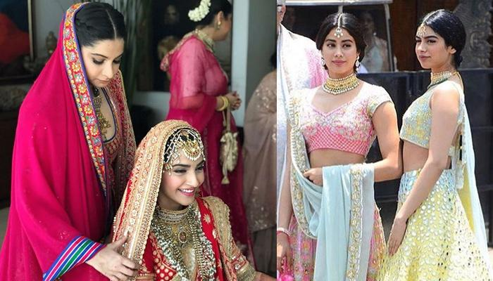 Sonam Kapoor And Her 'Team Bride' Is All Set For 'Anand Karaj', Looking Gorgeous In Designer Outfits
