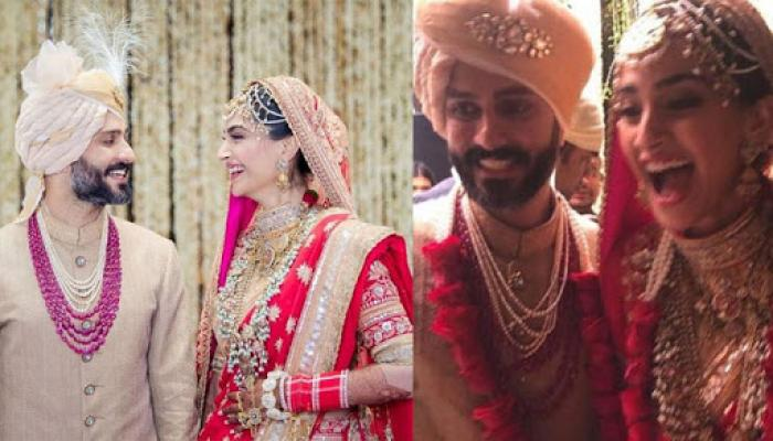 Sonam Kapoor-Anand Ahuja Are Married, Here're The 1st Pics Of The Happy Couple After 'Anand Karaj'