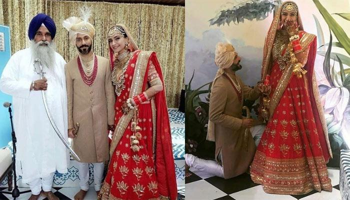 Unseen Pictures And Videos From Sonam Kapoor And Anand Ahuja's Sikh Wedding And 'Anand Karaj'