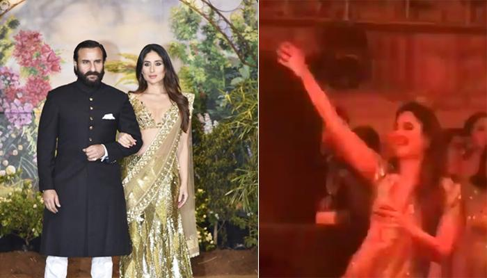 Kareena Kapoor Khan Dances To Hubby Saif's Famous Song 'Ole Ole' At Sonam's Reception, Must Watch