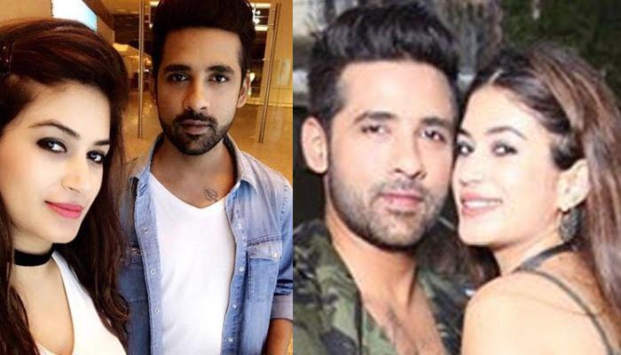 Bigg Boss Lovebirds Bandgi Kalra And Puneesh Sharma Are Twinning In Military Print Outfits