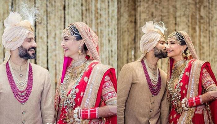Sonam Kapoor and Anand Ahuja share adorable pictures from their wedding album