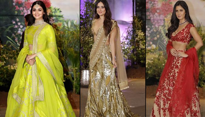 Sonam Kapoor-Anand Ahuja's Star-Studded Reception Was High On Style, See Who Wore What At The Party