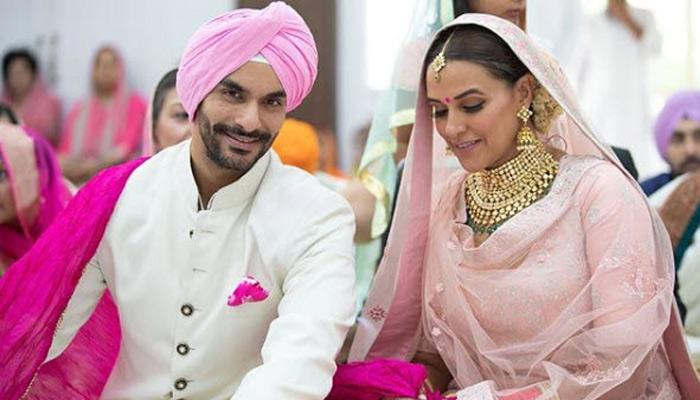 Neha Dhupia Ties The Knot With Actor Angad Bedi In A Gurudwara Wedding, Pictures Inside