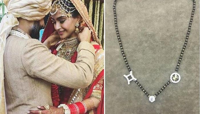 Sonam Kapoor's 'Mangalsutra' Is Personalised And Designed By Herself, Has A Hidden Meaning