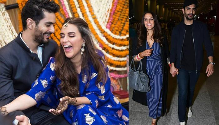 Newly-Weds Neha Dhupia And Angad Bedi To Throw A Lavish Reception For B-Town Friends Post-Honeymoon