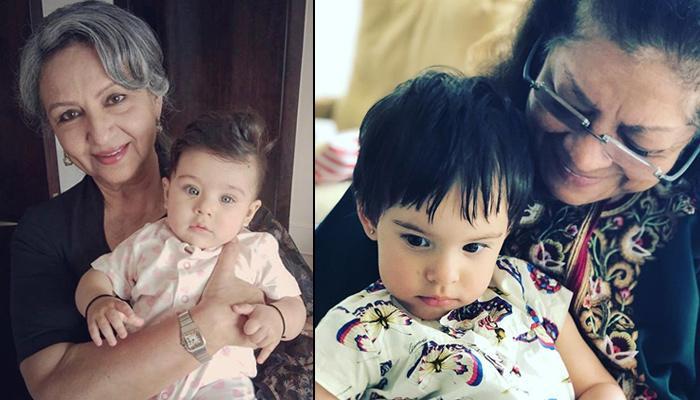 Soha, Aishwarya, Karan, Gauri, Farah, Mira Share Pics Of Their Kids With Grandmoms On Mother's Day