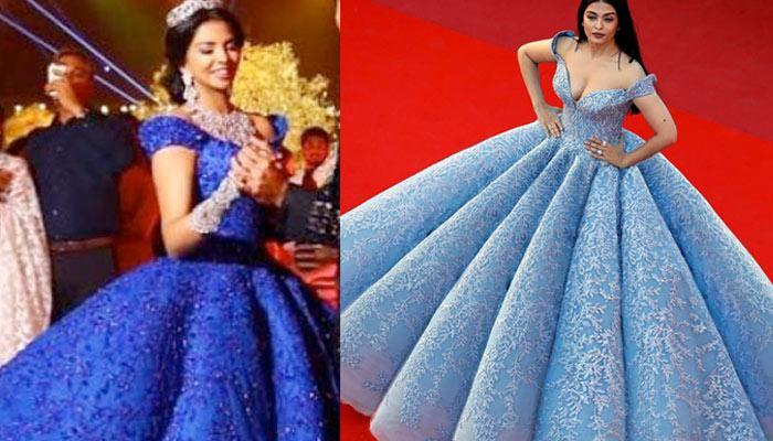 Bride Recreated Aishwarya\'s Cannes Look, Hired Same Designer To Make ...