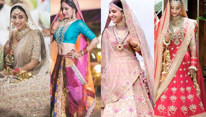 6 Common Bridal Lehenga Colours And What They Reveal About Your Personality