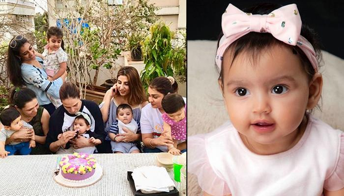 Esha Deol Twins With Her Six-Month-Old Daughter Radhya Takhtani At Her 1st Mother's Day Celebrations