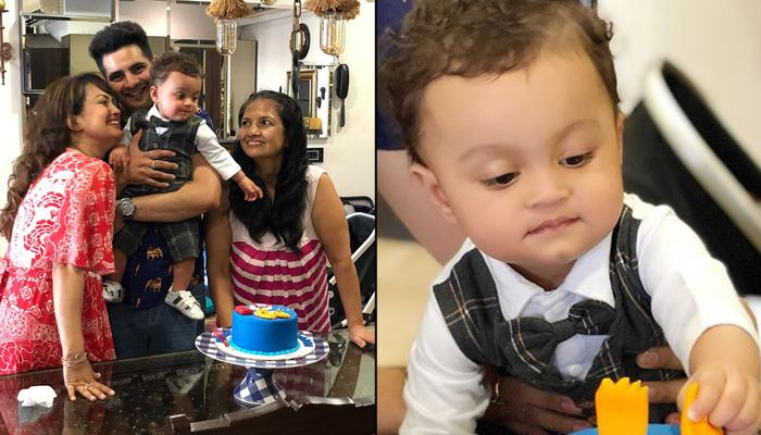Karan-Nisha's Son Kavish Turns 11-Month-Old, Birthday Cake Is About The Milestone He Has Achieved