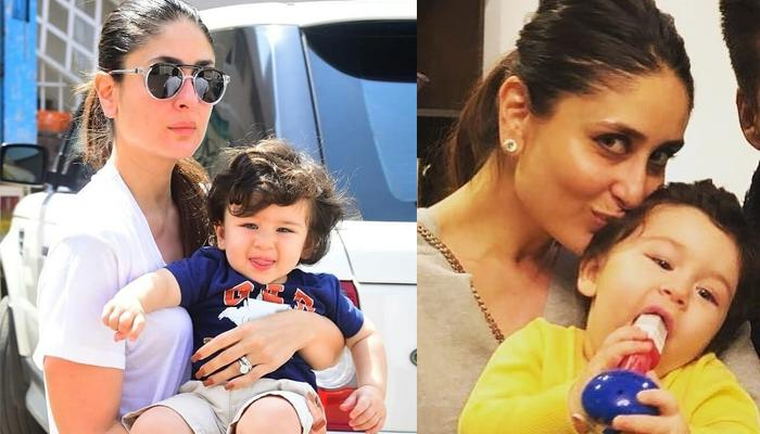 Kareena Reveals Who Changes Taimurs Diapers At Home; Taimur's Reaction To First Solid Food