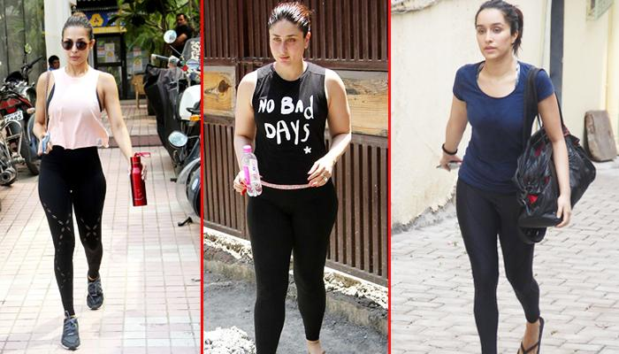 15 Bollywood Actresses Who Wore Stylish Gym Outfits And Gave Major Workout Fashion Goals