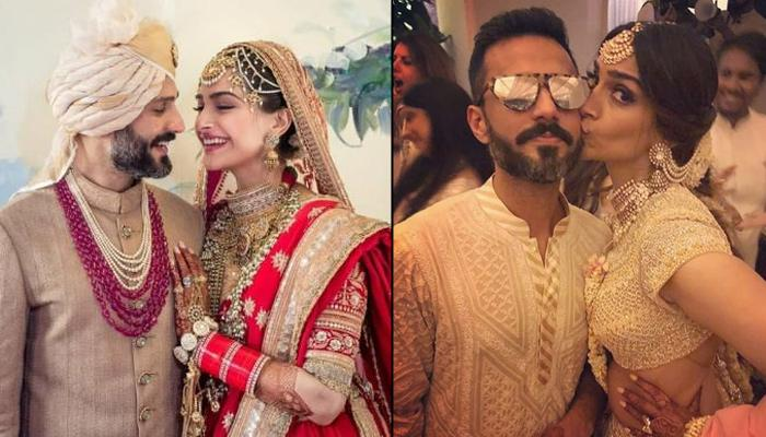 Sonam Kapoor Ahuja's Reaction On Anand Ahuja Changing His Name After Marriage Is 'Pure Love'