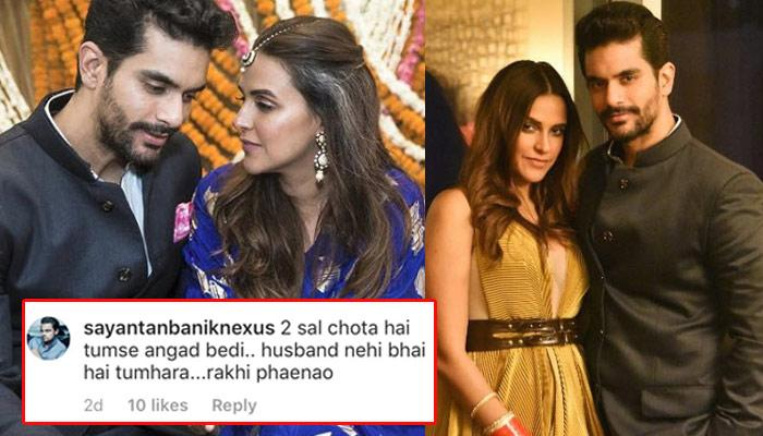 Newly-Wed Neha Dhupia Was Asked To Tie Rakhi To Hubby Angad Bedi, She Gave An Epic Reply!