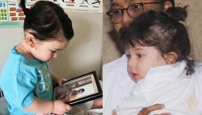 Taimur Ali Khan In His New Bun-Tied Hairstyle Is Making Our Weekend Already Amazing