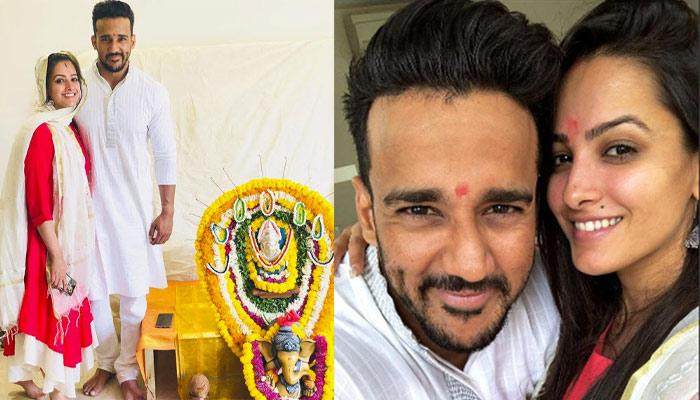 Anita Hassanandani-Rohit Reddy Do 'Griha Pravesh' Puja In Their New Home, Share Pics Of The House