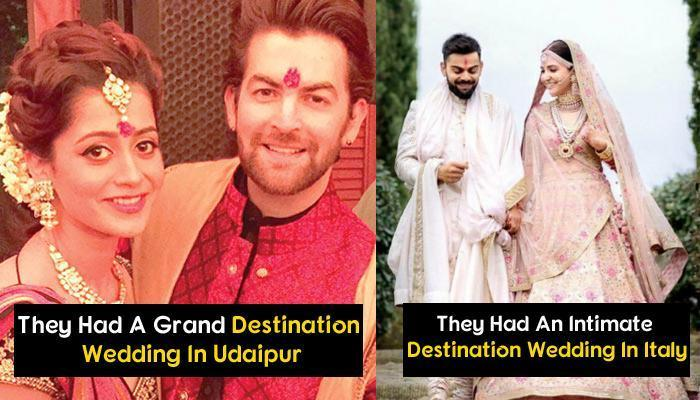 17 Bollywood And Television Celebrity Couples Who Had Stunning Destination Weddings