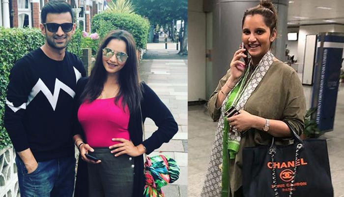 Sania Mirza Flaunts Her Baby Bump As She Returns From Dubai; Pregnancy Glow Is Evident