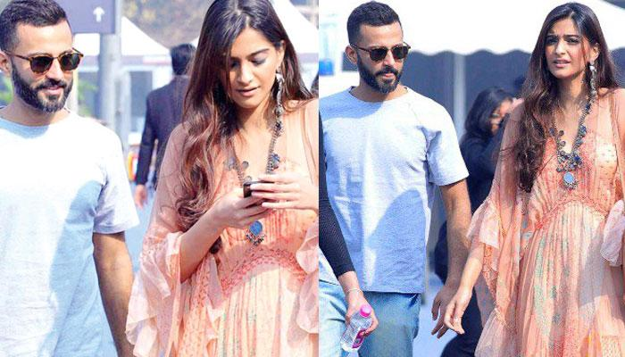 Sonam Kapoor Ahuja-Anand S Ahuja Leaving For An Exotic Location, Is It Their Honeymoon?