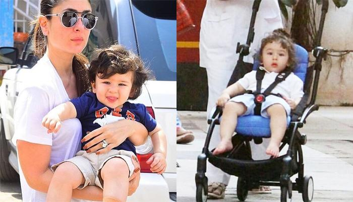 Kareena Isn't Happy With Media While Taimur Chills In His Pram, Doesn't Want His Life Be Documented