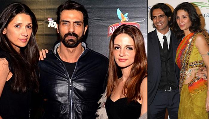Arjun Rampal And Sussanne Khan's Secret Meetings And Close Friendship Broke His Marriage With Mehr
