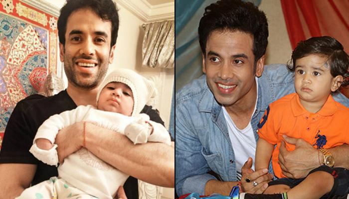 Tusshar Kapoor Shares An Unseen Picture Of Newborn Laksshya Kapoor On His 2nd Birthday