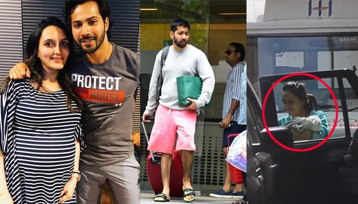 Varun's Brother And Sister-In-Law, Rohit And Jaanvi Take Their Little Baby Girl Home, Pics Inside