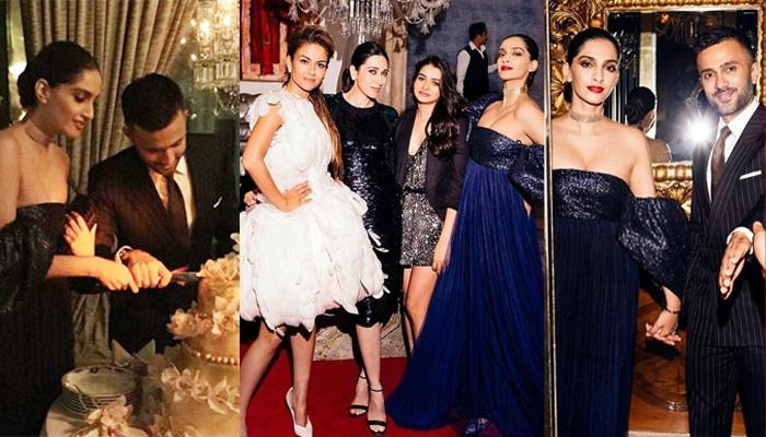 Natasha Poonawalla Hosts A Grand Party For Newly Married Sonam And Anand, Pics And Videos Inside