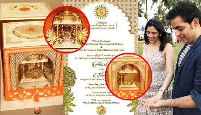 Image result for Isha Ambani's Wedding Card
