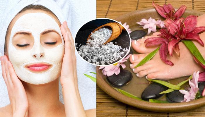 9 Amazing Beauty Benefits Of Sea Salt And The Ways You Can Use It For Skin Care