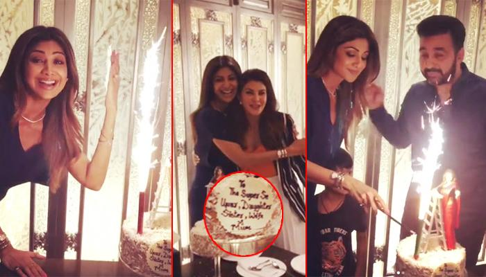 Hubby Raj's 'Super Se Upar' Cake For Wifey Shilpa On Her 43rd B'Day Is The Best Thing, Pics Inside!