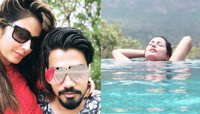 Lovebirds Hina Khan And Rocky Jaiswal Enjoying Their Quality Time Together In Goa, Pics Inside!