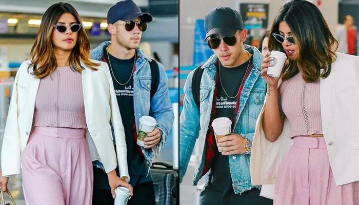 Alleged Couple, Priyanka Chopra And Nick Jonas Spotted At JFK Airport Adding Spark To Dating Rumours