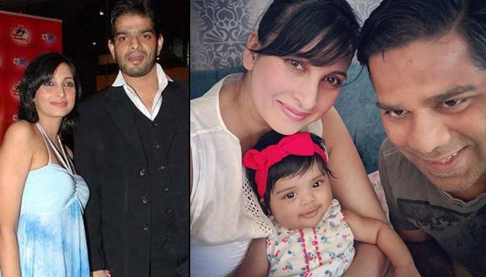 Karan Patel's Ex, Amita Chandekar Tiwari And Ritesh Tiwari Baptise Their 4-Month-Old Daughter, Zya