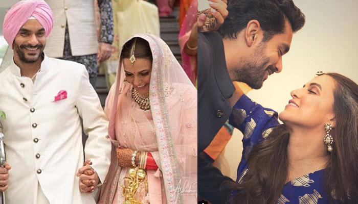 Newly-Weds Neha Dhupia-Angad Bedi Celebrate One Month Anniversary, Share Romantic Messages