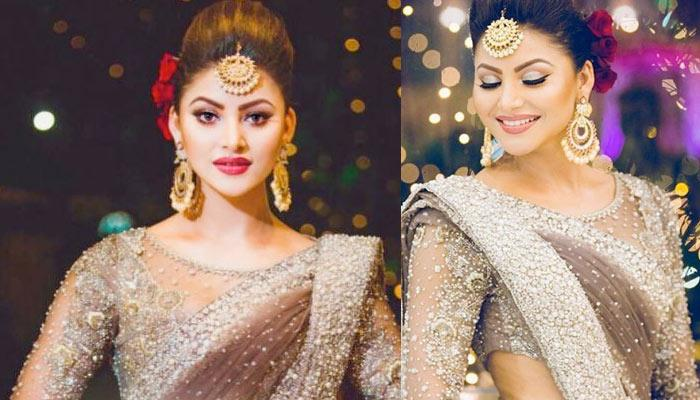 Urvashi Rautela Spent One Crore On Her Jewellery And Saree For Her Cousin's Wedding