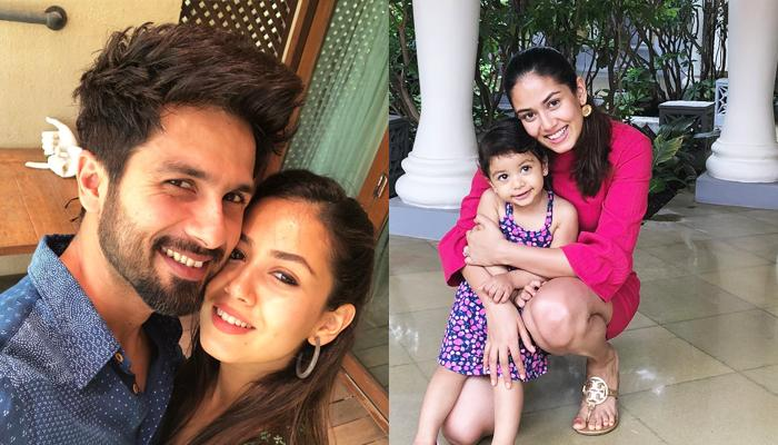 Pregnant Mira Is Missing Busy Shahid, Mommy-To-Be-Again Steals Extra Hugs From Misha