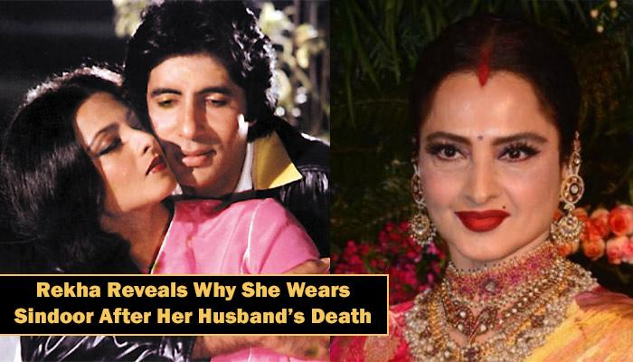 After An Affair With Amitabh Bachchan, Rekha Got Married, But Soon Her Husband Committed Suicide