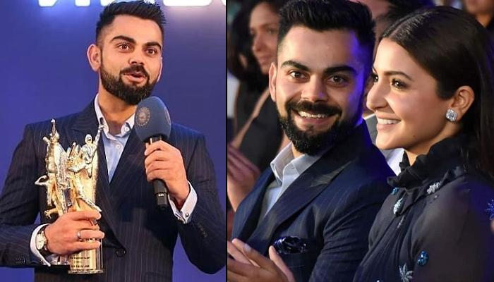 Proud Wife Anushka Cheers For Virat As He Receives BCCI Award, He Said Her Presence Made It Special