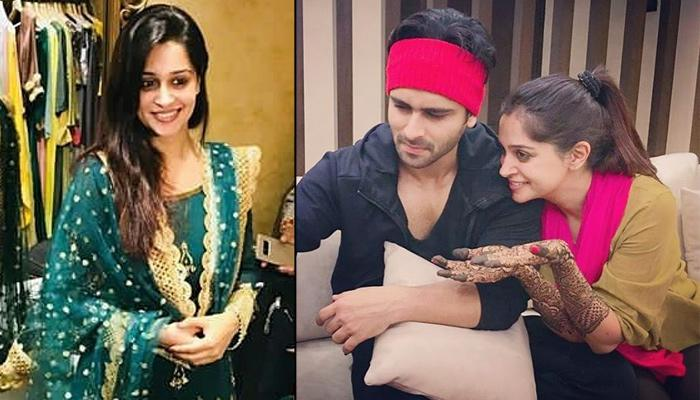 Dipika Kakar Is All Set For First Eid After Marriage In Green Sharara And Henna Applied On Her Hands