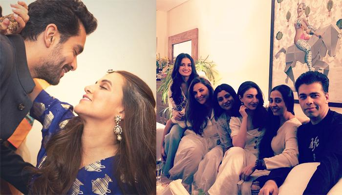 Dia Mirza Throws A Post Wedding Party For Newly Weds Neha Dhupia And Angad Bedi, Pics Inside