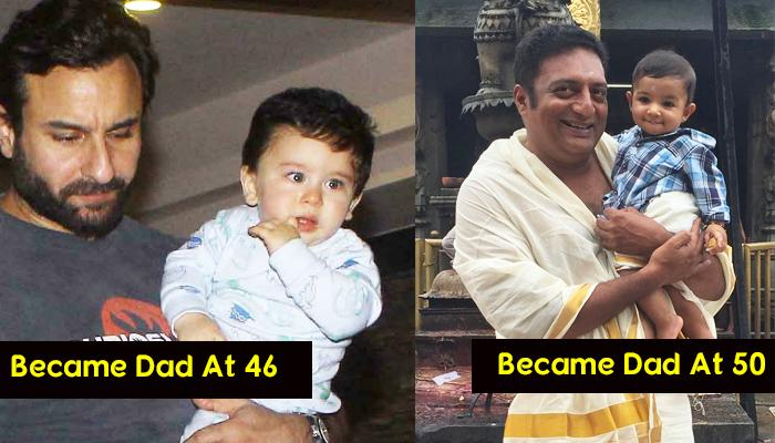 10 Bollywood And TV Actors Who Became Fathers After The Age Of 40