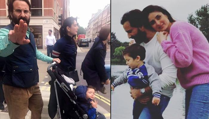 Saif Ali Khan Gets Angry When A Fan Tries To Click Taimur Ali Khan's Picture On Their Trip To London