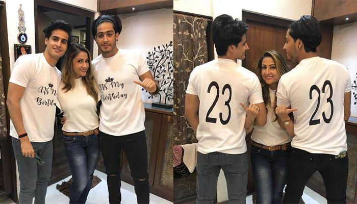 Urvashi Dholakia, 40-Year-Old Single Mother, Gave A Birthday Surprise To Her 23-Year-Old Twin Sons