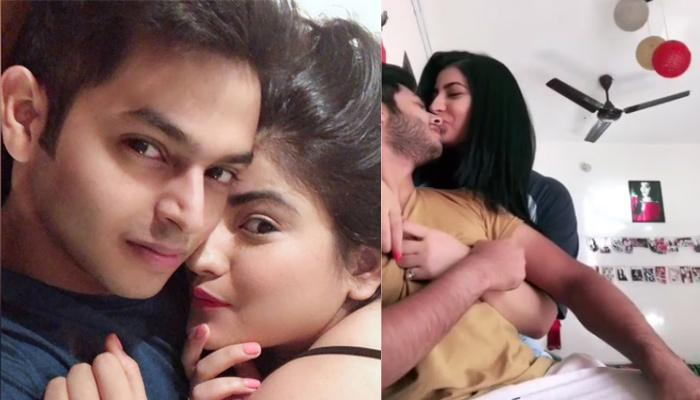 Comedian-Actor Sidharth Sagar And Girlfriend Subuhi Joshi Kiss In A Romantic Video After Patch-Up