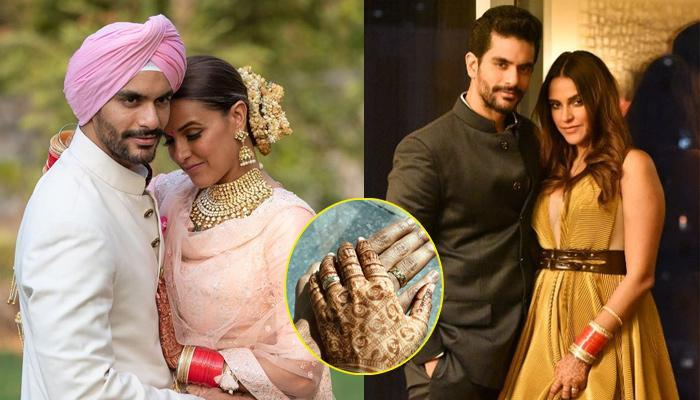 Neha Dhupia-Angad Bedi's Engagement Rings Are 40 Years Old, Have Hidden Significance!